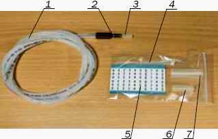 Комплект АОВ-4 для оптоволоконной муфты МТОК