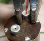 Обжим проводов в алюминиевых клеммах стартера