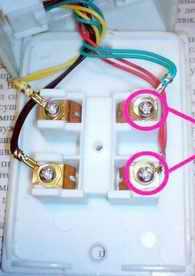 Подключение розетки телефонной универсальной с разьёмом РТШК-4
